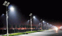 low energy solar lighting